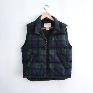 Eddie Bauer Goose Down Puffer Vest - size Small